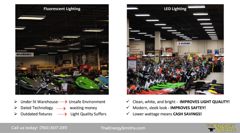 Lighting services by The Energy Smiths