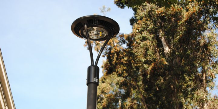 Outdoor LED lighting in San Diego saving money on monthly energy costs with The Energy Smiths.